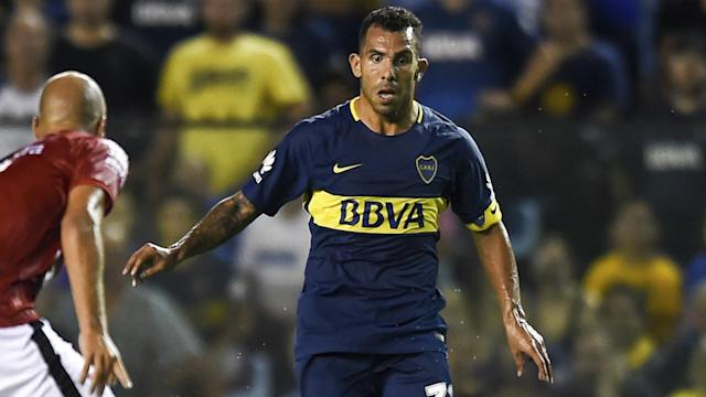 The Argentina international forward grabbed an assist as Colon were defeated 2-0 at La Bombonera