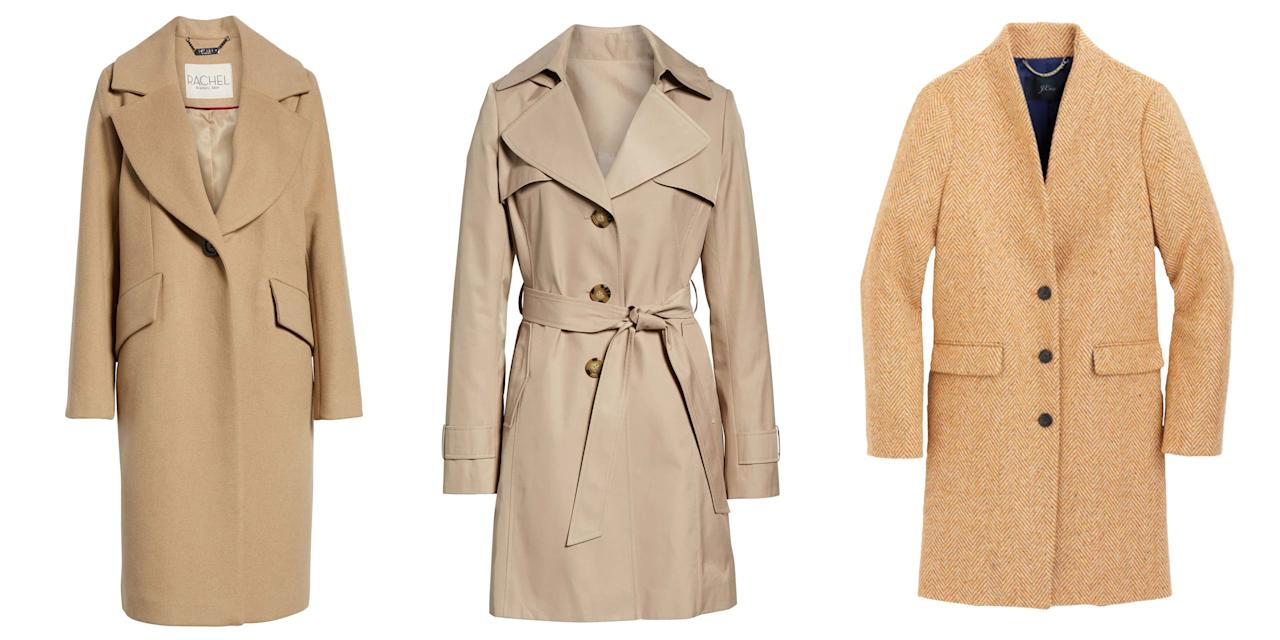 "<p>Perhaps what makes a great camel coat so appealing is its versatility-whether you choose to style yours with jeans and flats, or over a classic black sheath, there's really no <em>wrong</em> way to wear it. With <a rel=""nofollow"" href=""https://www.townandcountrymag.com/style/fashion-trends/g10353582/best-preppy-outfits/"">fall well and truly underway</a>, there's no better time to invest in one of these timeless, goes-with-everything staples. </p>"