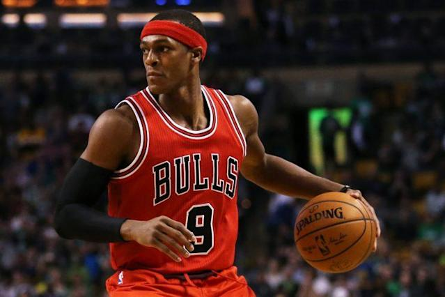 Rondo signed a two-year, $28 million free-agent contract with Chicago in the summer. (Getty Images)