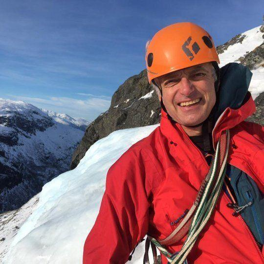 Mountain guide Martin Moran, who owns the Moran Mountain trekking group that was leading the climb (Picture: Facebook)