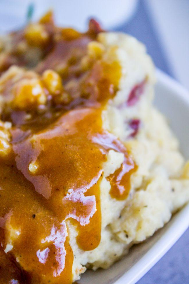 """<p>Stick it in the freezer to make Turkey Day prep a little less stressful.</p><p>Get the recipe from <a href=""""https://thefoodcharlatan.com/make-ahead-turkey-gravy-recipe-for-thanksgiving/"""" rel=""""nofollow noopener"""" target=""""_blank"""" data-ylk=""""slk:The Food Charlatan"""" class=""""link rapid-noclick-resp"""">The Food Charlatan</a>.</p>"""