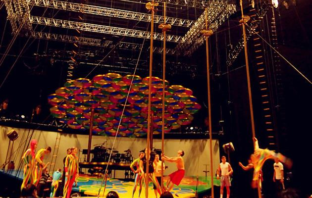 Cirque Du Soleil Behind the Scenes (Yahoo! Photos / Elizabeth Soh)