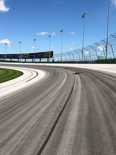 Turn 3 at Kentucky Speedway (Via Kentucky Speedway)