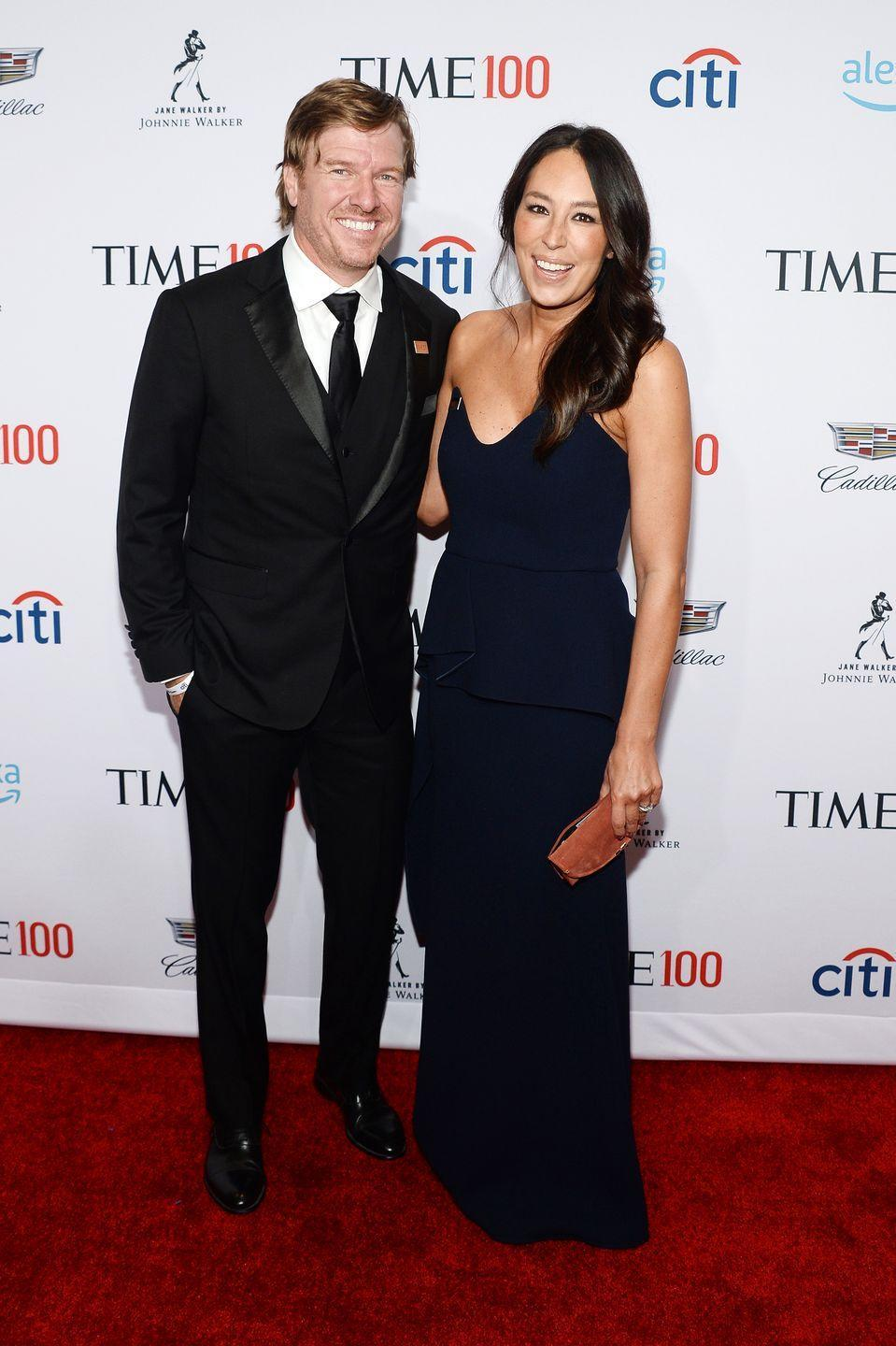 """<p>The former <em>Fixer Upper </em>stars have always spoken openly about their faith, and <a href=""""https://apnews.com/b7bf312b057e45dc9571d8968c0b13ad"""" rel=""""nofollow noopener"""" target=""""_blank"""" data-ylk=""""slk:recently began inviting a local church to host services"""" class=""""link rapid-noclick-resp"""">recently began inviting a local church to host services</a> at Magnolia Market. In <em>The Magnolia Story</em>,<a href=""""https://www.amazon.com/Magnolia-Story-Chip-Gaines/dp/0718079183/ref=tmm_hrd_swatch_0?tag=syn-yahoo-20&ascsubtag=%5Bartid%7C10063.g.36700789%5Bsrc%7Cyahoo-us"""" rel=""""nofollow noopener"""" target=""""_blank"""" data-ylk=""""slk:Joanna wrote, &quot;I came to think of God"""" class=""""link rapid-noclick-resp""""> Joanna wrote, """"I came to think of God</a> as more of a gracious friend who was accompanying me on this journey, a friend who wanted to carry my burdens and speak into my life and shape me into who I really was and who I would become.""""</p>"""