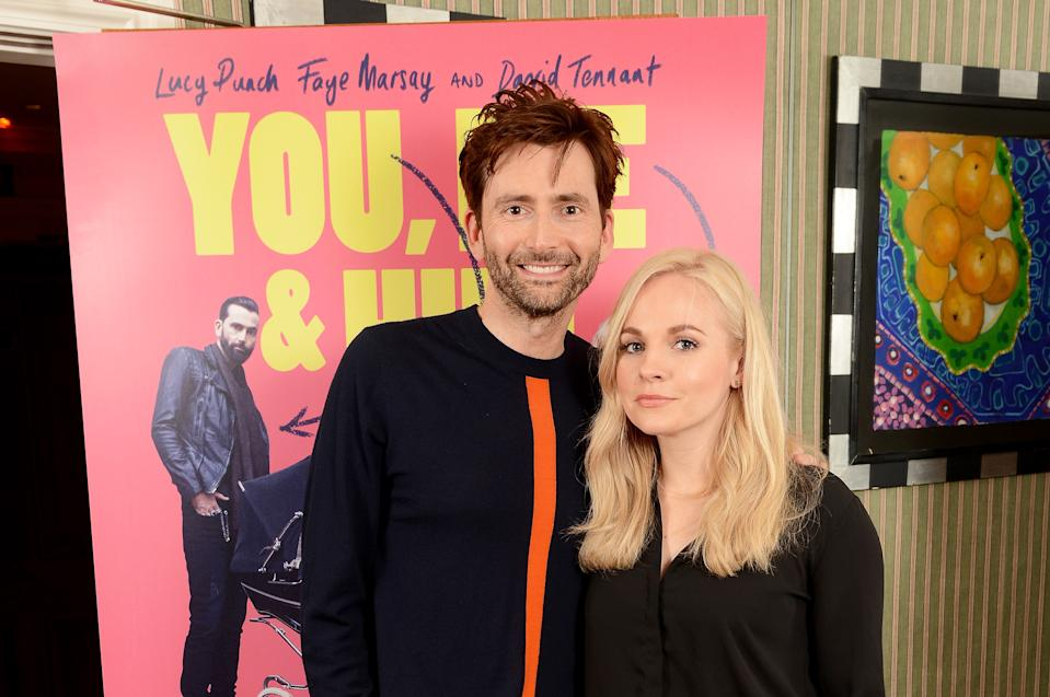 David and Georgia Tennant are married with five kids. (Getty Images)