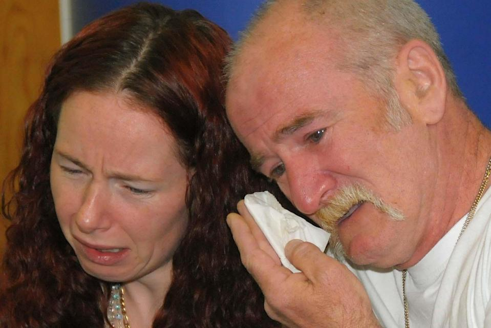 <p>Mairead Philpott with husband Mark: The pair were jailed in 2013</p> (PA)