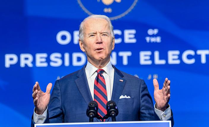 President Joe Biden issued a flurry of climate-focused executive orders in his first hours in office.  (Photo: The Washington Post via Getty Images)