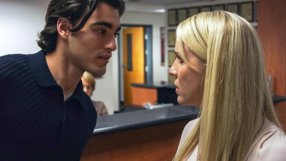 """<p>After a law professor fails one of her students for dishonesty, she is tormented by him until he gets the grade (and justice) he thinks he deserves.</p> <p><a href=""""https://www.netflix.com/title/81050198"""" class=""""link rapid-noclick-resp"""" rel=""""nofollow noopener"""" target=""""_blank"""" data-ylk=""""slk:Watch The Student on Netlfix now."""">Watch <strong>The Student</strong> on Netlfix now.</a></p>"""