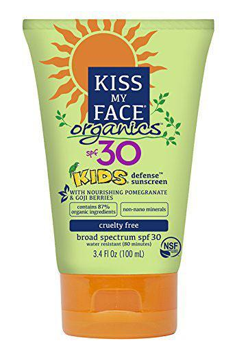 Kiss My Face Kids Mineral SPF 30 Natural Organic Sunscreen (Photo: Amazon)