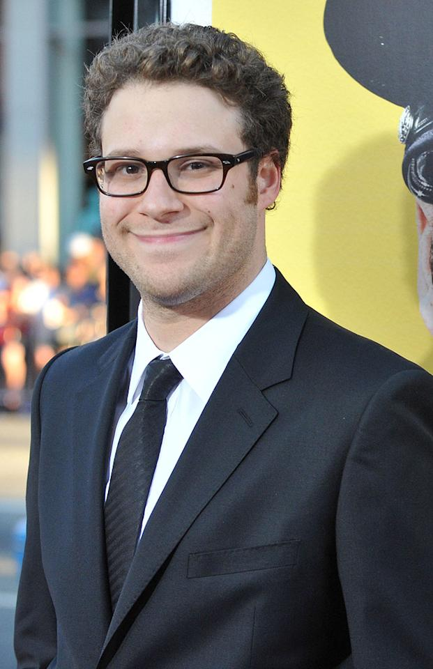 "<a href=""http://movies.yahoo.com/movie/contributor/1804494942"">Seth Rogen</a> at the Los Angeles premiere of <a href=""http://movies.yahoo.com/movie/1810025224/info"">Observe and Report</a> - 04/06/2009"