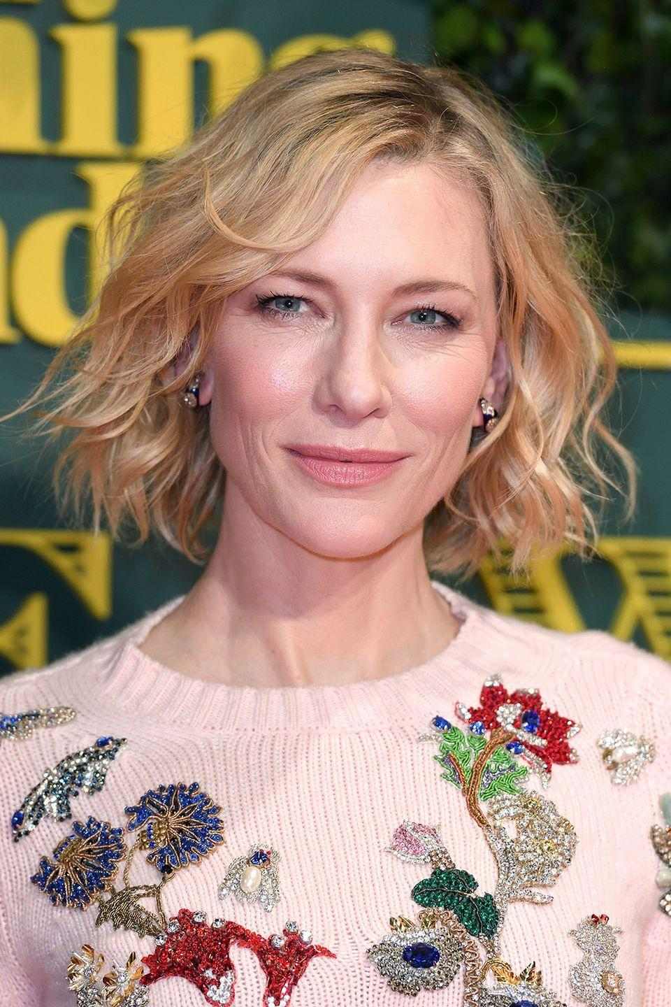 """<p>During an interview with Andrew Freund about her role in the live-action remake of <em>Cinderella, </em>Blanchett talks about her least favorite chore to do around the house—which is <a href=""""https://www.youtube.com/watch?v=_xuQzEmUi_s"""" rel=""""nofollow noopener"""" target=""""_blank"""" data-ylk=""""slk:picking up dog poop"""" class=""""link rapid-noclick-resp"""">picking up dog poop</a>. After complaining about picking up """"tons of dog poop"""" for two minutes (and saying the word """"poop"""" at least 10 times), she remembers they are talking about the movie.</p><p>""""<em>Cinderella, </em>we're talking about <em>Cinderella. </em>There's no dog poop in that fucking story,"""" she says through her teeth. Clearly, this is her least favorite chore.</p>"""