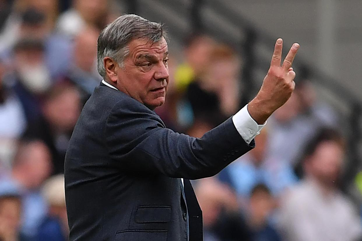 Sam Allardyce has hit out at Paul Pogba.