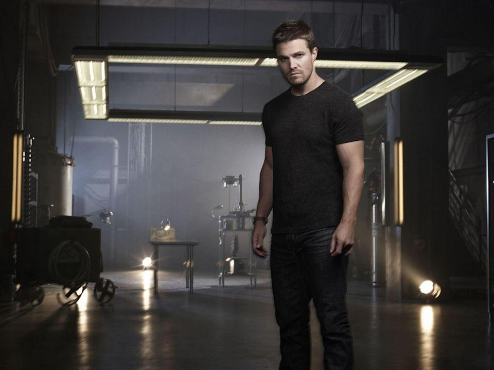 """<p>David Rapaport *knew* he wanted Stephen Amell to play Oliver Queen. """"We wanted someone with a darkness and an edge to him, but someone who looked like He-Man,"""" Rapaport said in an <a href=""""https://www.buzzfeed.com/jarettwieselman/the-man-who-helped-build-the-cw?utm_term=.qjDK4y52g#.dtx12nbKE"""" rel=""""nofollow noopener"""" target=""""_blank"""" data-ylk=""""slk:interview"""" class=""""link rapid-noclick-resp"""">interview</a>. Rapaport was so sure Amell was the perfect fit, that he only auditioned a few others.</p>"""