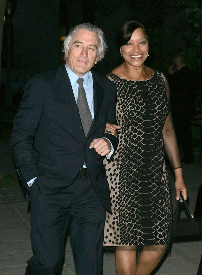 Robert De Niro and Grace Hightower attend the Vanity Fair Party during the 2012 Tribeca Film Festival at the State Supreme Courthouse on April 17, 2012 in New York City.