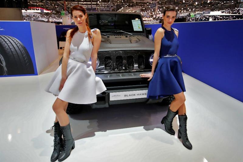 #MeToo Drives 'Booth Babes' to Near Extinction at Geneva Motor Show