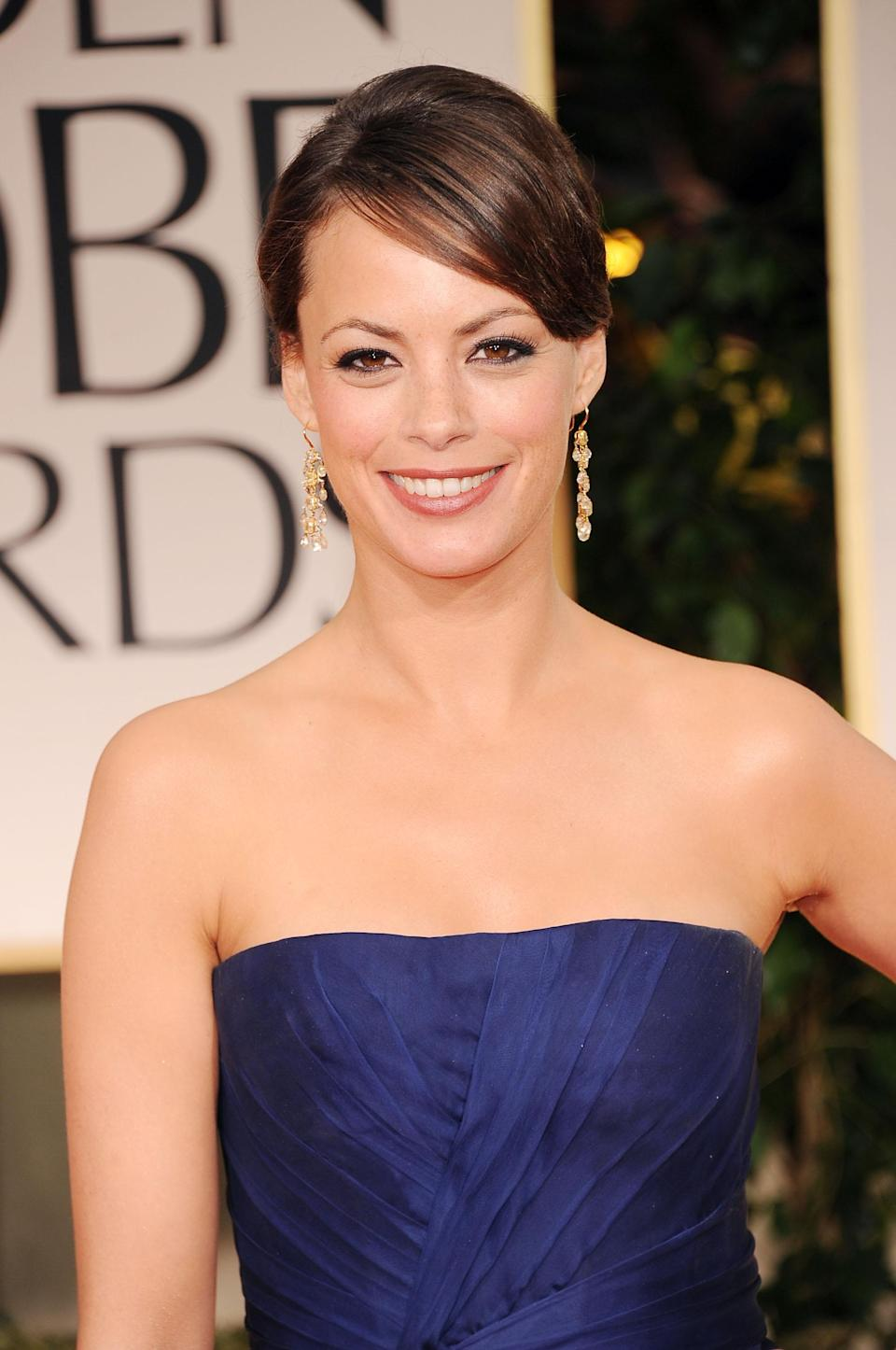 """Berenice Bejo is nominated for best supporting actress in the silent film """"The Artist."""""""