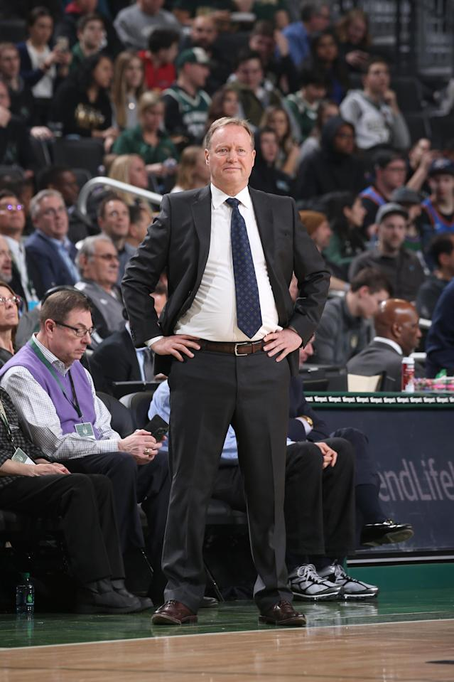 Mike Budenholzer (Photo by Gary Dineen/NBAE via Getty Images)