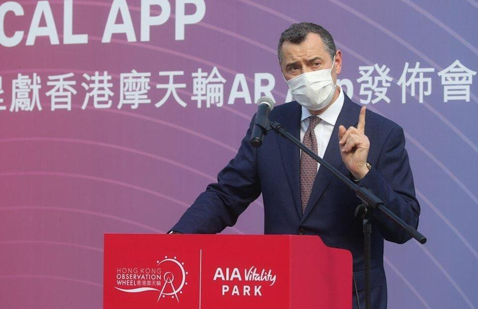 Stuart Spencer, group chief marketing officer at AIA in Hong Kong. Photo: Edmond So