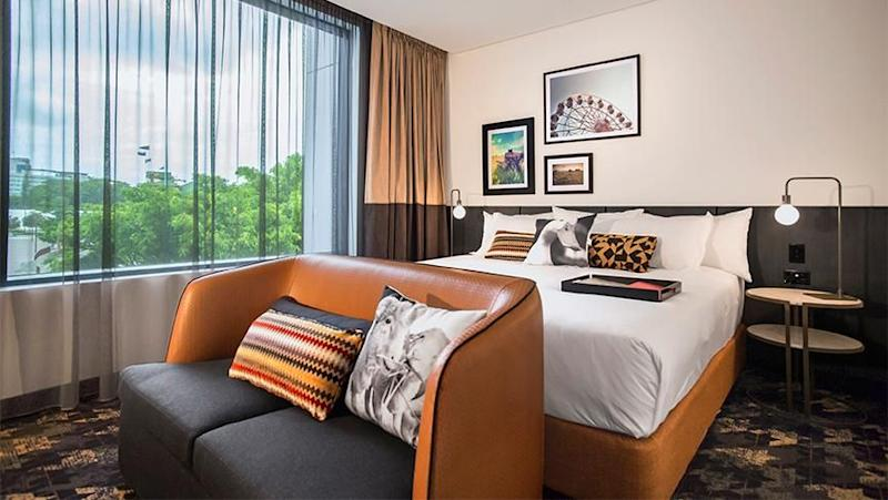 A Queen Room at Rydges Fortitude Valley.