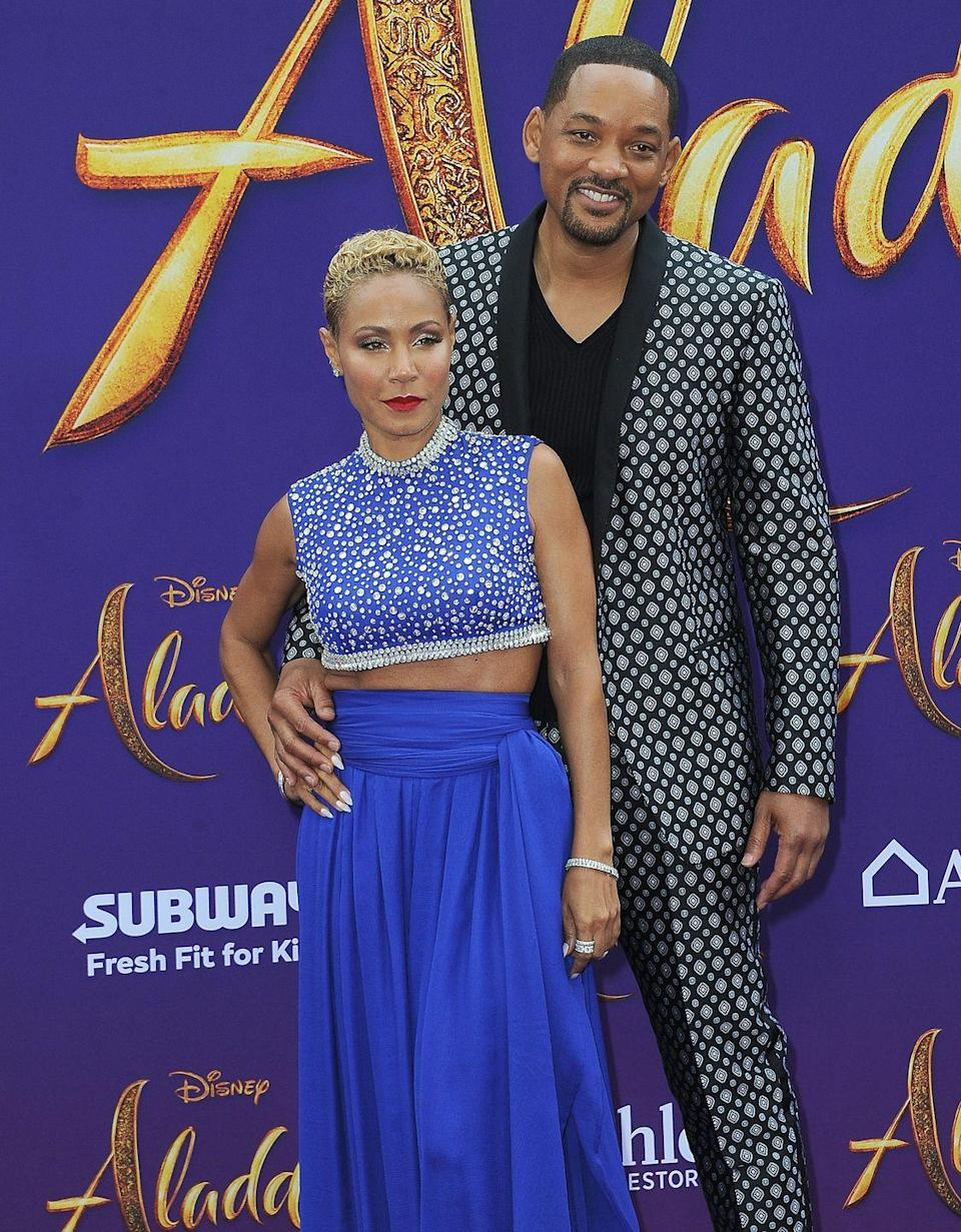"""<p>In 1997, Smith married actress Pinkett Smith. They have two kids together and are one of Hollywood's biggest power couples. It hasn't all been smooth sailing, though. In an appearance on <a href=""""https://www.etonline.com/will-smith-admits-wife-and-daughters-red-table-talk-makes-him-uncomfortable-125721"""" rel=""""nofollow noopener"""" target=""""_blank"""" data-ylk=""""slk:Red Table Talk"""" class=""""link rapid-noclick-resp""""><em>Red Table Talk</em></a>, Smith said there was a period of time when he was """"failing miserably"""" as a husband.</p>"""