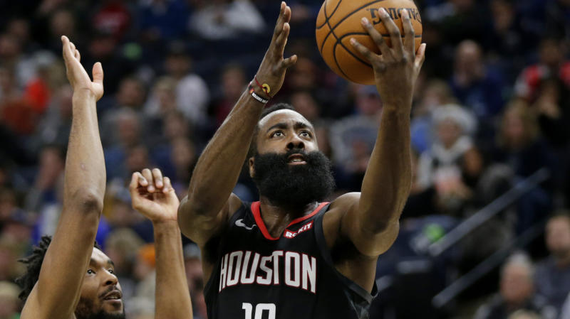 Harden, Westbrook lift off in Houston