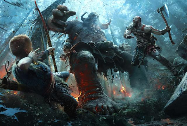 'God of War' is shaping up to be an early contender for Game of the Year.