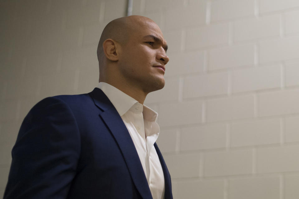 Junior dos Santos is immediately eligible to fight after USADA discovered he had taken a tainted supplement. (Getty Images)