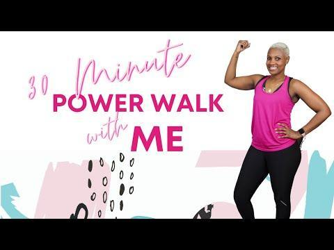 """<p>If you can't get outside for a walk, instructor Tiffany Moore will help you get 1 to 1.5 miles in from your living room. This power walking class pairs marching, tapping, and stepping with upbeat music from the likes of Prince and Sade. Add ankle weights if you're looking to up the ante.</p><p><a href=""""https://www.youtube.com/watch?v=dSmUnhPH6Lk"""" rel=""""nofollow noopener"""" target=""""_blank"""" data-ylk=""""slk:See the original post on Youtube"""" class=""""link rapid-noclick-resp"""">See the original post on Youtube</a></p>"""