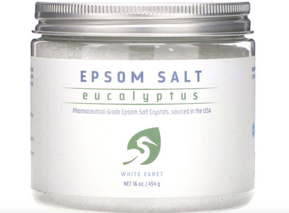 White Egret Personal Care, Epsom Salt, Eucalyptus. PHOTO: iHerb
