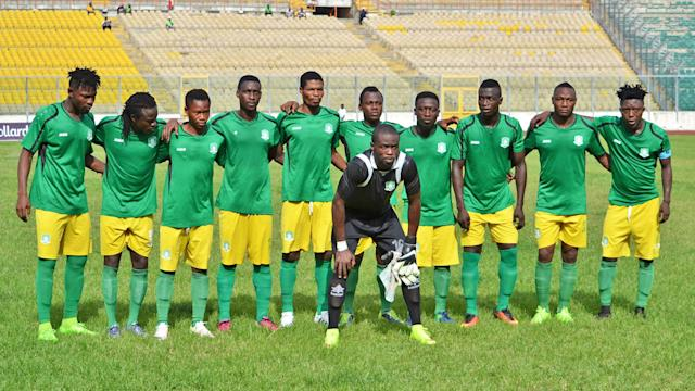 The Ghanaian side could not make it past the first round following a heavy fall on the road
