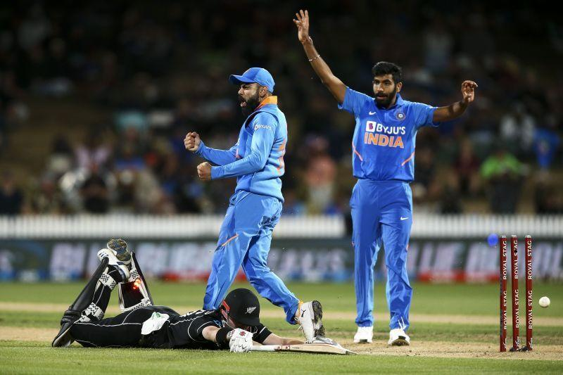 B umrah ended the ODI series wicket-less