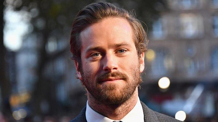 Armie Hammer attends the Free Fire Closing Night Gala in London in 2016