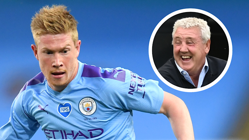 'De Bruyne has had enough of Man City!' - Bruce jokes about Newcastle signing Belgian star