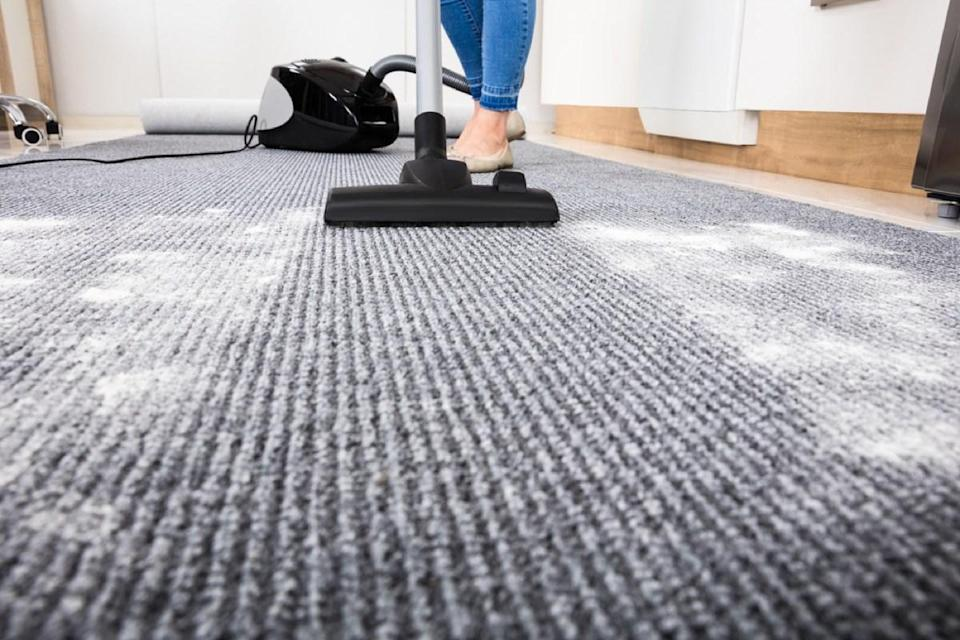 """Think you're saving your carpets from an early demise by limiting how often you vacuum them? Think again. """"Vacuuming allows carpets to breathe and release tangled fibers, which can extend [their] life,"""" says <strong>David Serville</strong>, CEO of commercial cleaning company <a href=""""http://crewcare.co.nz"""" rel=""""nofollow noopener"""" target=""""_blank"""" data-ylk=""""slk:Crewcare"""" class=""""link rapid-noclick-resp"""">Crewcare</a>."""