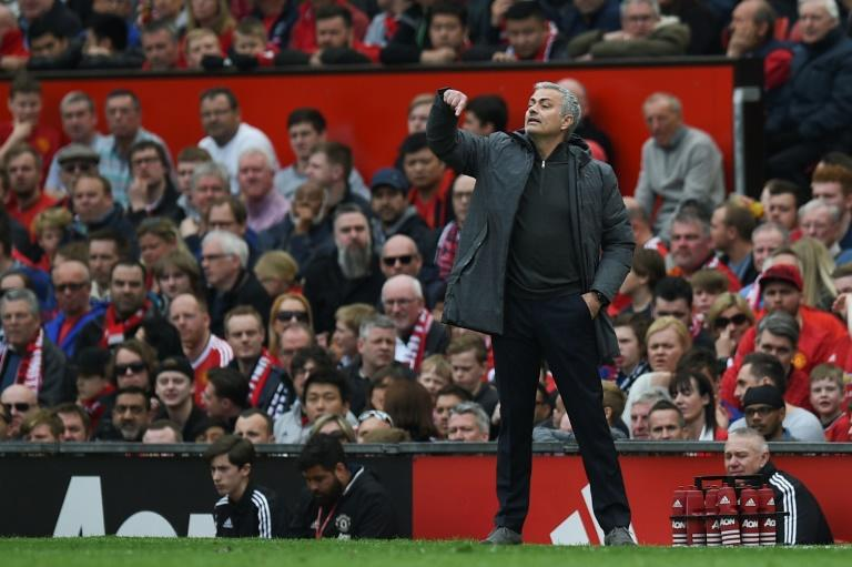 "Mourinho has described Manchester United's nine-match April schedule as ""not human"""