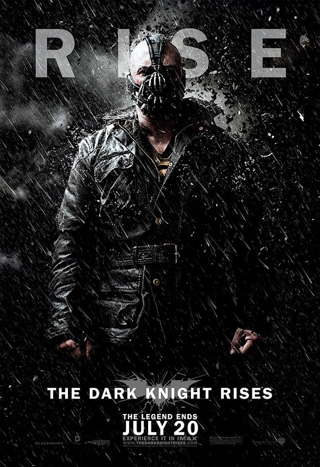 "Tom Hardy as Bane in Warner Bros. Pictures' ""The Dark Knight Rises"" - 2012"