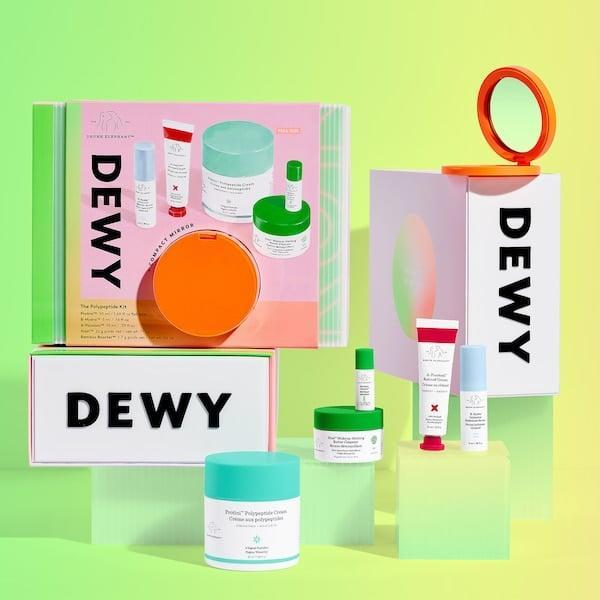<p>Skin-care lovers will be obsessed with this <span>Drunk Elephant Dewy: The Polypeptide Kit</span> ($75).</p>