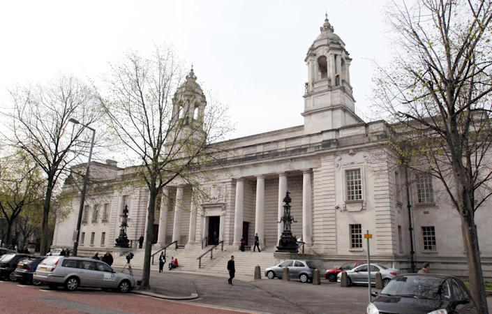 A general view Cardiff Crown Court.