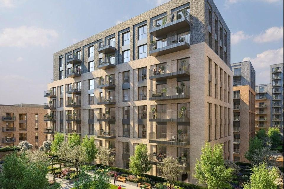 Homes at  Hawker House,  the latest phase of  Woodberry Down,  are priced from  £508,500 (Handout)