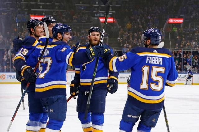 """ST. LOUIS — Jordan Binnington has played in 204 minor league games, plenty of time to wonder if he'd ever make an NHL start. The long wait was worth it for the rookie St. Louis Blues goaltender. Binnington made 28 saves and Oskar Sundqvist added a goal and an assist to lead the Blues to a 4-1 win over the Montreal Canadiens on Thursday night. Binnington improved to 2-0 after becoming the 35th goaltender in NHL history to record a shutout in his first career start on Monday at Philadelphia. """"He's been playing really well,"""" Sundqvist said. """"He got a lot of confidence after that win in Philadelphia, so hopefully he can just keep rolling."""" Binnington said he doesn't deserve any special accolades for sparking his team. """"No more than when Sammy Blais scores,"""" Binnington said. """"When the young guys are working and playing hard, I think people always have a good reaction to that and get behind them."""" Robert Thomas, Jay Bouwmeester and Blais also scored for St. Louis, which won for the second time in its last six home games. Veteran Carey Price, meanwhile, allowed four goals on 30 shots to lose his third consecutive start. """"Basically, we gave it to them,"""" Canadiens centre Phillip Danault said. """"We were flat-footed. We didn't use our speed, our strength, and they capitalized more than we did."""" Thomas scored his fifth of the season on the power play 1:56 into the game when he pushed Ryan O'Reilly's rebound past Price. The Blues had scored on just one of their previous 20 power plays. """"That's a big goal in the first period on that first power play,"""" Blues interim coach Craig Berube said. """"I know that in the past here we get power plays in the first period and we don't score and we get frustrated and it affects our game."""" Thomas left with an upper-body injury 8:39 into the first period and did not return. Sundqvist buried a feed from O'Reilly for his eighth goal of the season to extend the St. Louis lead. He only had two goals in 70 career games prior to this season. """"His improve"""