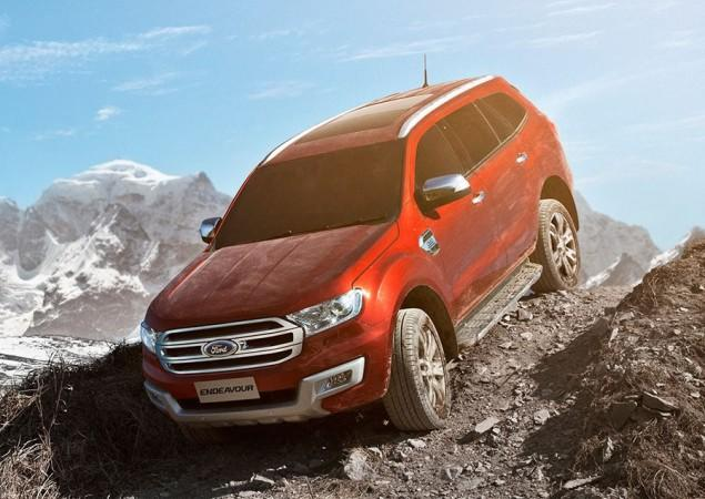 Ford Endeavour, Ford India, ford endeavour 2017