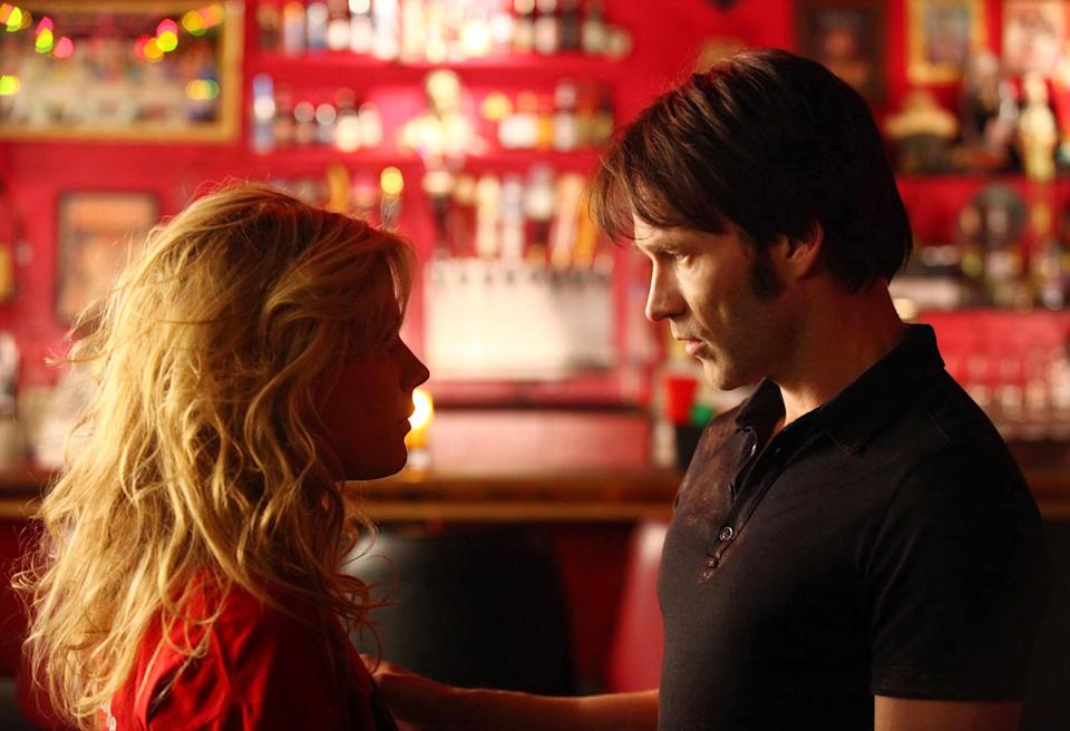 <p>Anna Paquin and Stephen Moyer in 'True Blood' </p>Rex Features