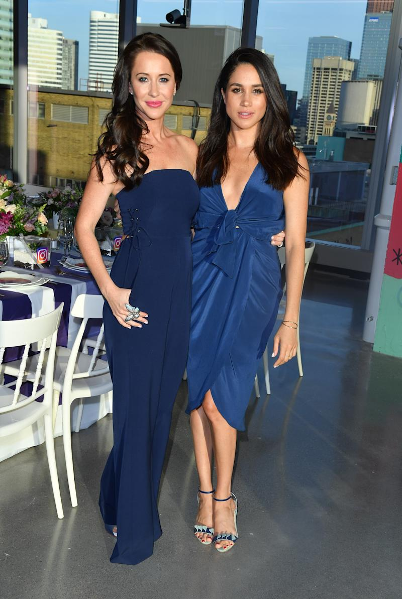 Jessica and Meghan Markle met while they were both living in Toronto in 2011. Photo: Getty Images