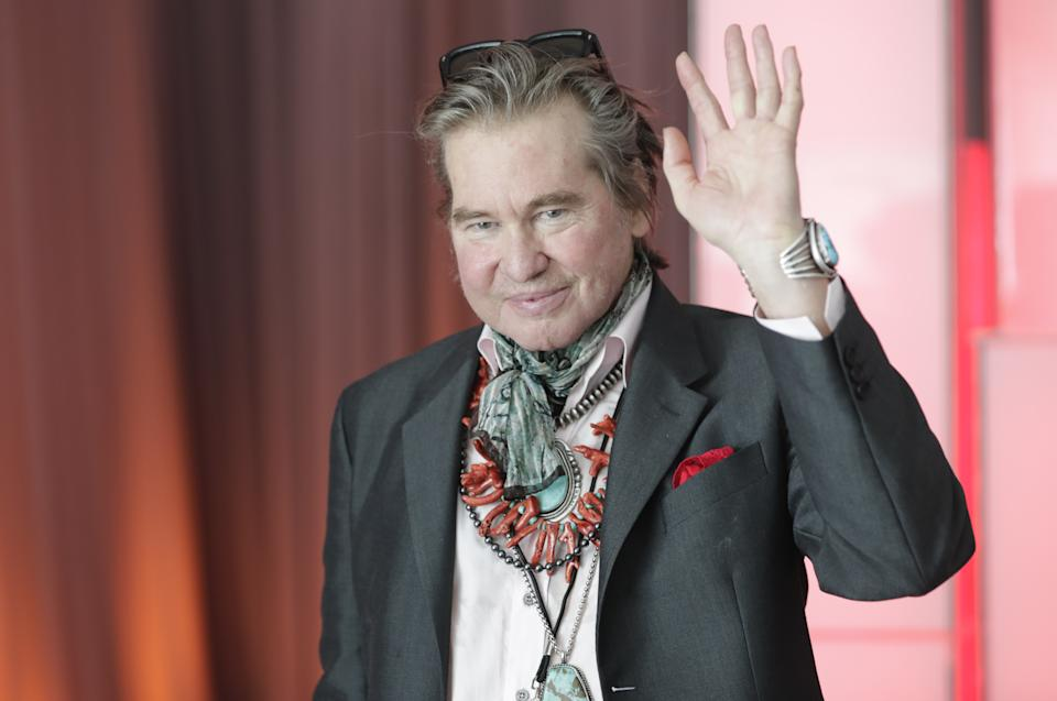 Actor Val Kilmer visits the United Nations headquarters in New York City, New York to promote the 17 Sustainable Development Goals (SDGs) initiative, July 20, 2019. (Photo by EuropaNewswire/Gado/Getty Images)