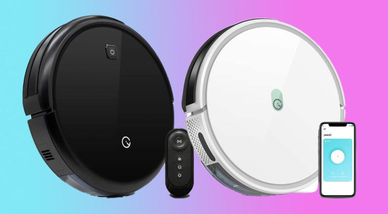 Yeedi Robot Vacuums are on sale for one day only! (Photo: Amazon)