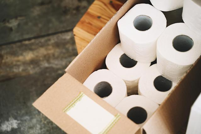 People buying up all the loo roll would fall into the covidiot category. (Getty Images)