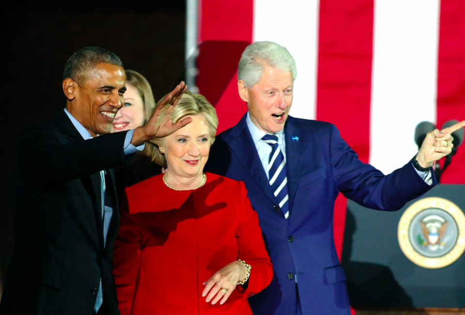 <em>Packages were sent to the homes of Barack Obama and Bill and Hillary Clinton on Wednesday (Getty)</em>