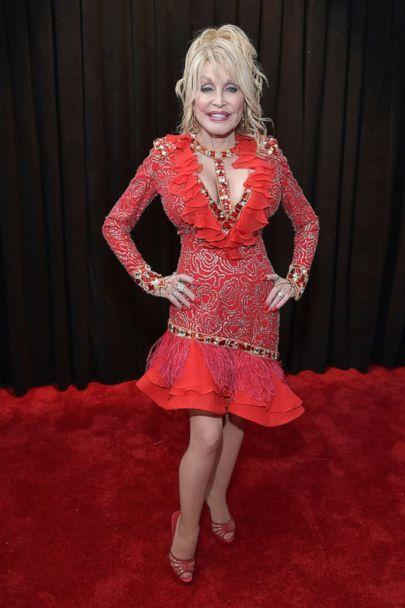 PHOTO: Dolly Parton attends the 61st Annual GRAMMY Awards at Staples Center on Feb. 10, 2019 in Los Angeles. (Neilson Barnard/Getty Images)