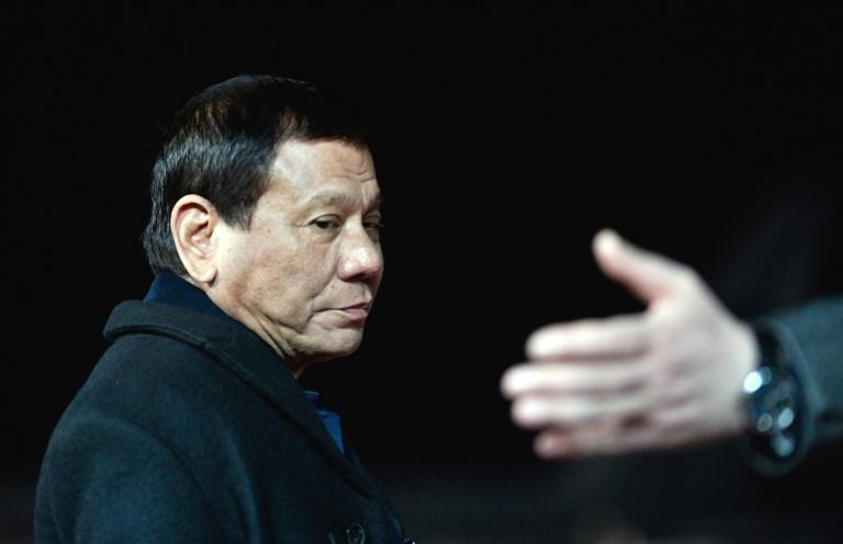Philippine president cuts short Russian Federation trip