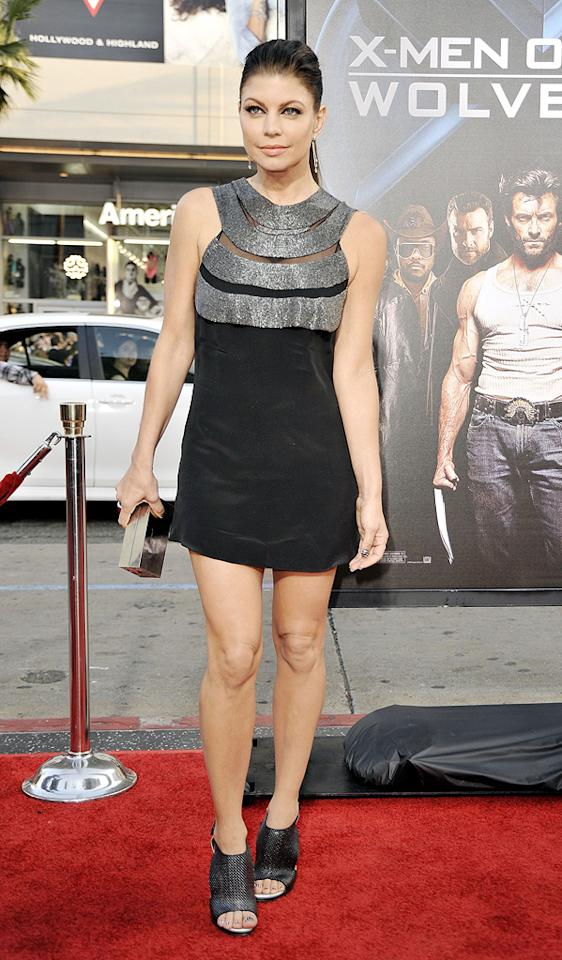"""<a href=""""http://movies.yahoo.com/movie/contributor/1809169648"""">Stacy Ferguson</a> at the Los Angeles premiere of <a href=""""http://movies.yahoo.com/movie/1808665084/info"""">X-Men Origins: Wolverine</a> - 04/28/2009"""